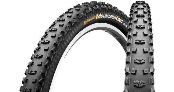 Continental Mountain King II - Pneu - Protection 27.5 pouces pliable noir